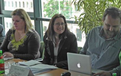 Întâlnire de proiect la Budapesta