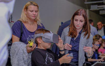 Aplicațiile AR și VR – atracție pentru sute de copii la Noaptea Cercetătorilor Europeni
