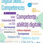 Workshop Competențe și abilități digitale – Digital Culture și Timișoara 2021
