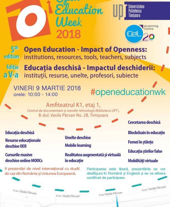 Open Education Week 2018