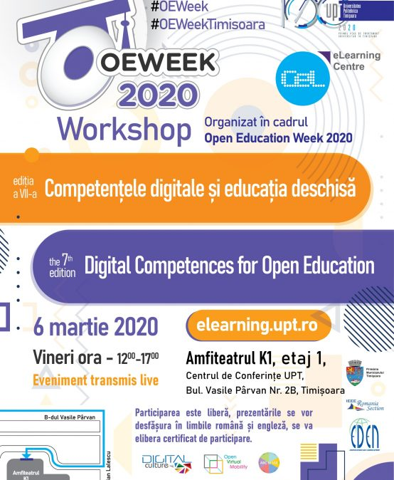 Workshop Digital Competences for Open Education