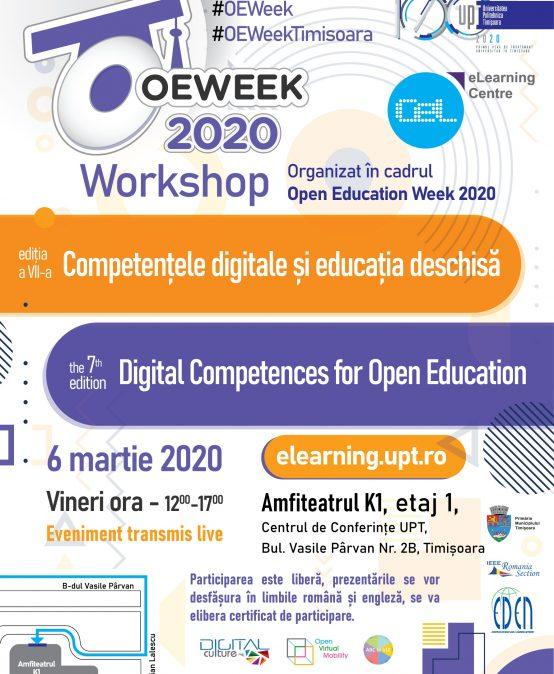Workshop Competențele digitale și Educația deschisă