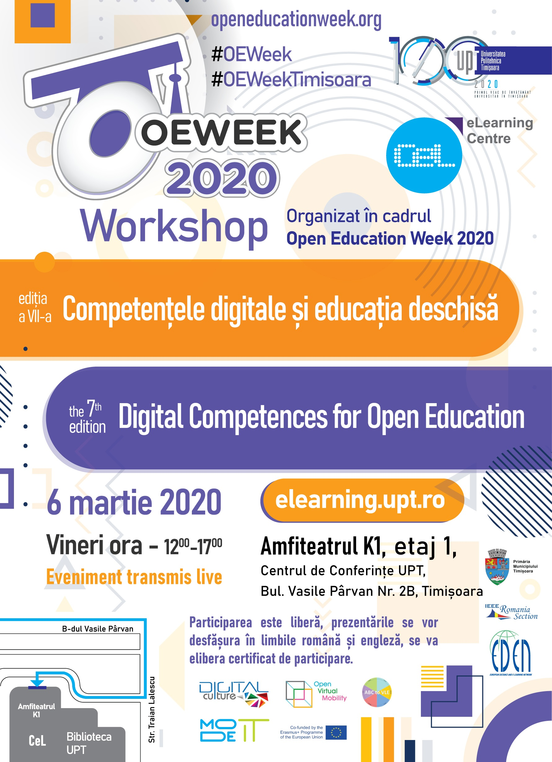 Registration open for the Digital Competences for Open Education workshop