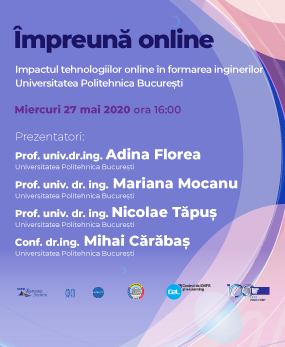 Webinar #impreunaonline - The impact of online technologies in the training of engineers