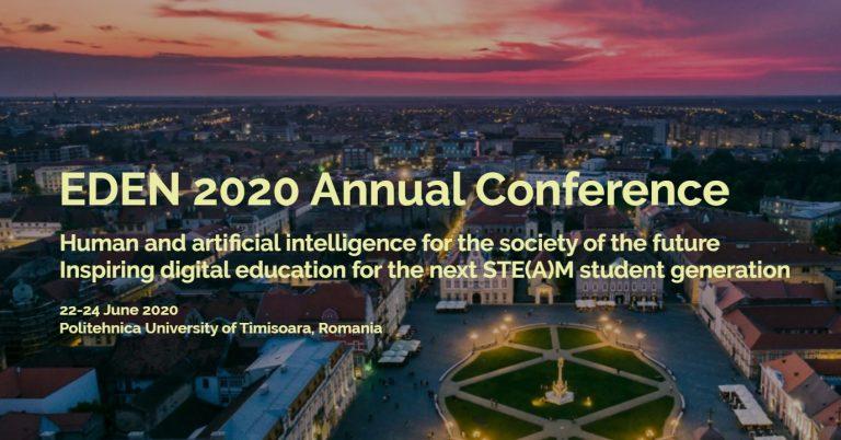 Conferința anuală EDEN 2020