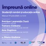 Webinar #impreunaonline –  Studenții români și educația online