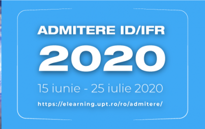 ID / IFR ADMISSION results - JULY 2020 session