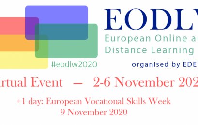 Te așteptăm la European Online and Distance Learning Week 2020! Vezi programul webinariilor EDEN