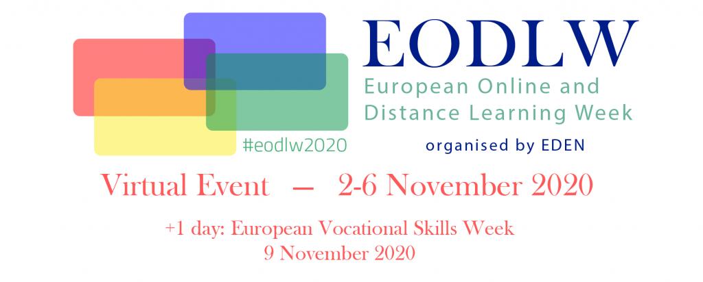 Te așteptăm la European Online and Distance Learning Week 2020! Vezi programul webinariilor EDEN