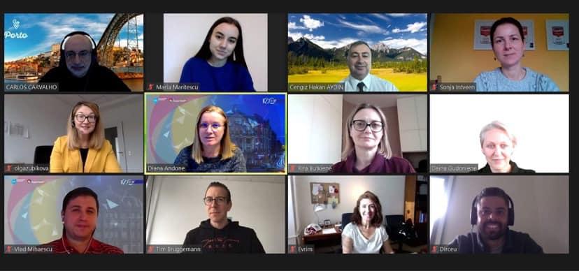 Întâlnire virtuală la Porto