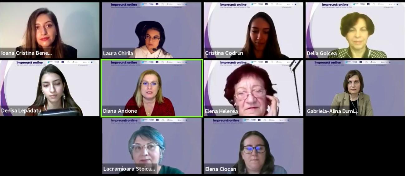 Webinar #impreunaonline: Ziua Internațională a fetelor și femeilor în STEM