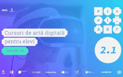 Pixel_Art – Cursuri gratuite de artă digitală pentru elevi