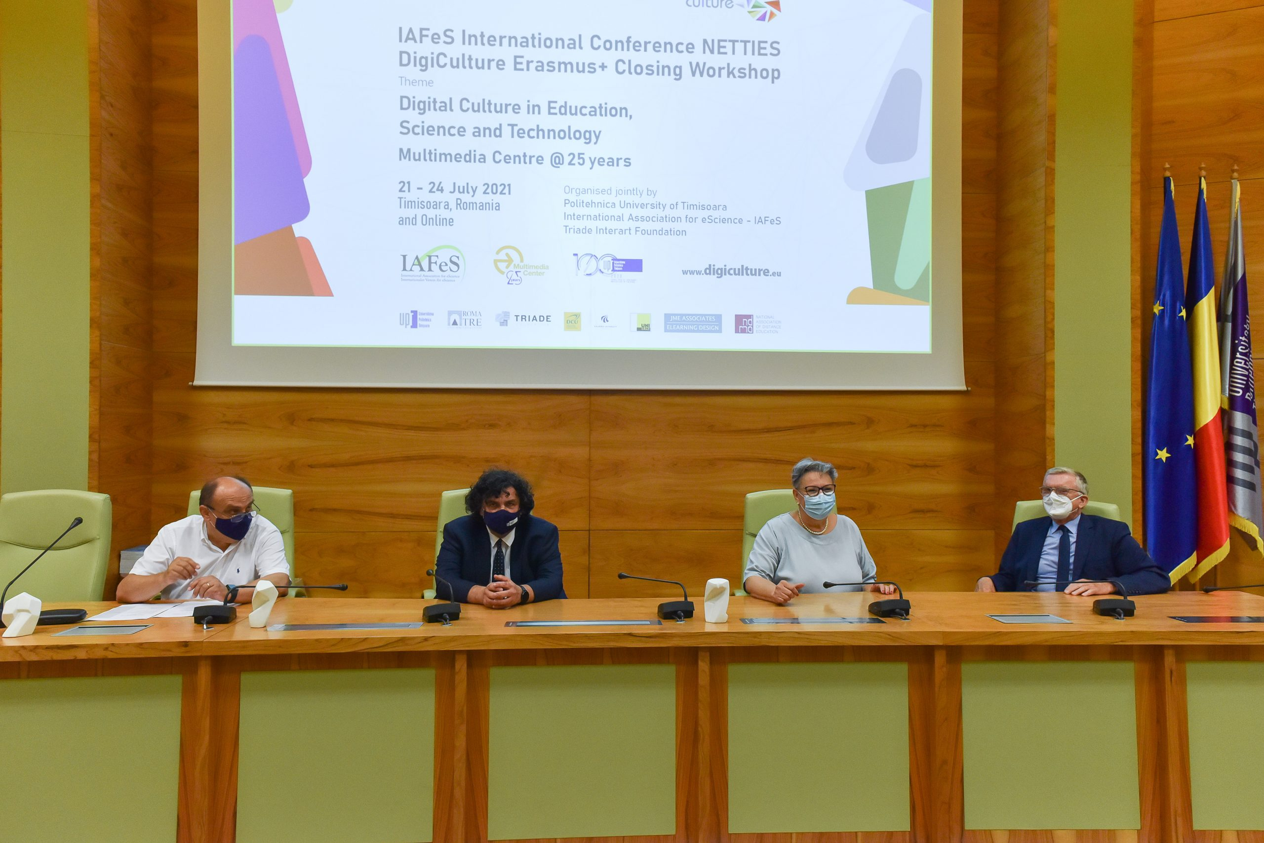 Peste 500 de participanți fizic și virtual la Conferința Internațională IAFeS NETTIES & Workshop de încheiere a DigiCulture Erasmus+
