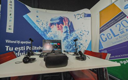 CeL team at Flight Festival - Tech World: AR glasses, VR, holograms, magic cubes, laboratories with sensory feedback and the latest high-tech gadgets