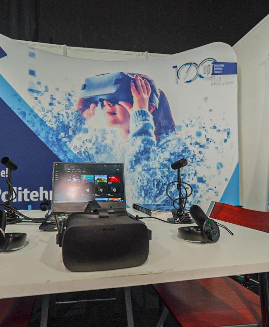 Echipa CeL la Flight Festival – Tech World: ochelari AR, VR, holograme, cuburi magice, laboratoare cu feedback senzorial și ultimele gadget-uri high-tech